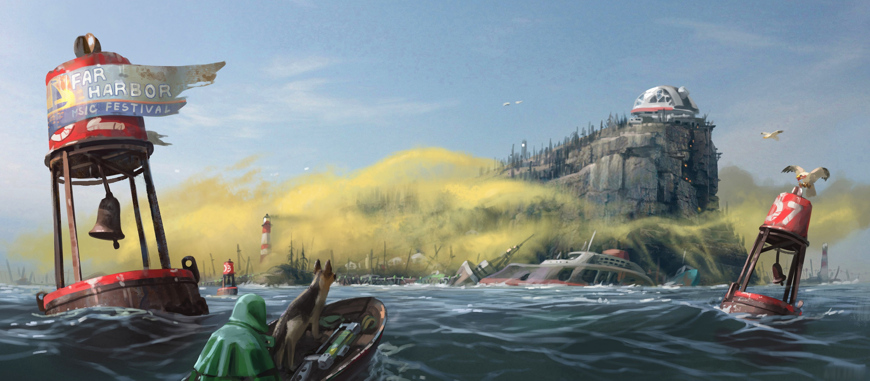 Fallout 4 Video Explores Far Harbor DLC