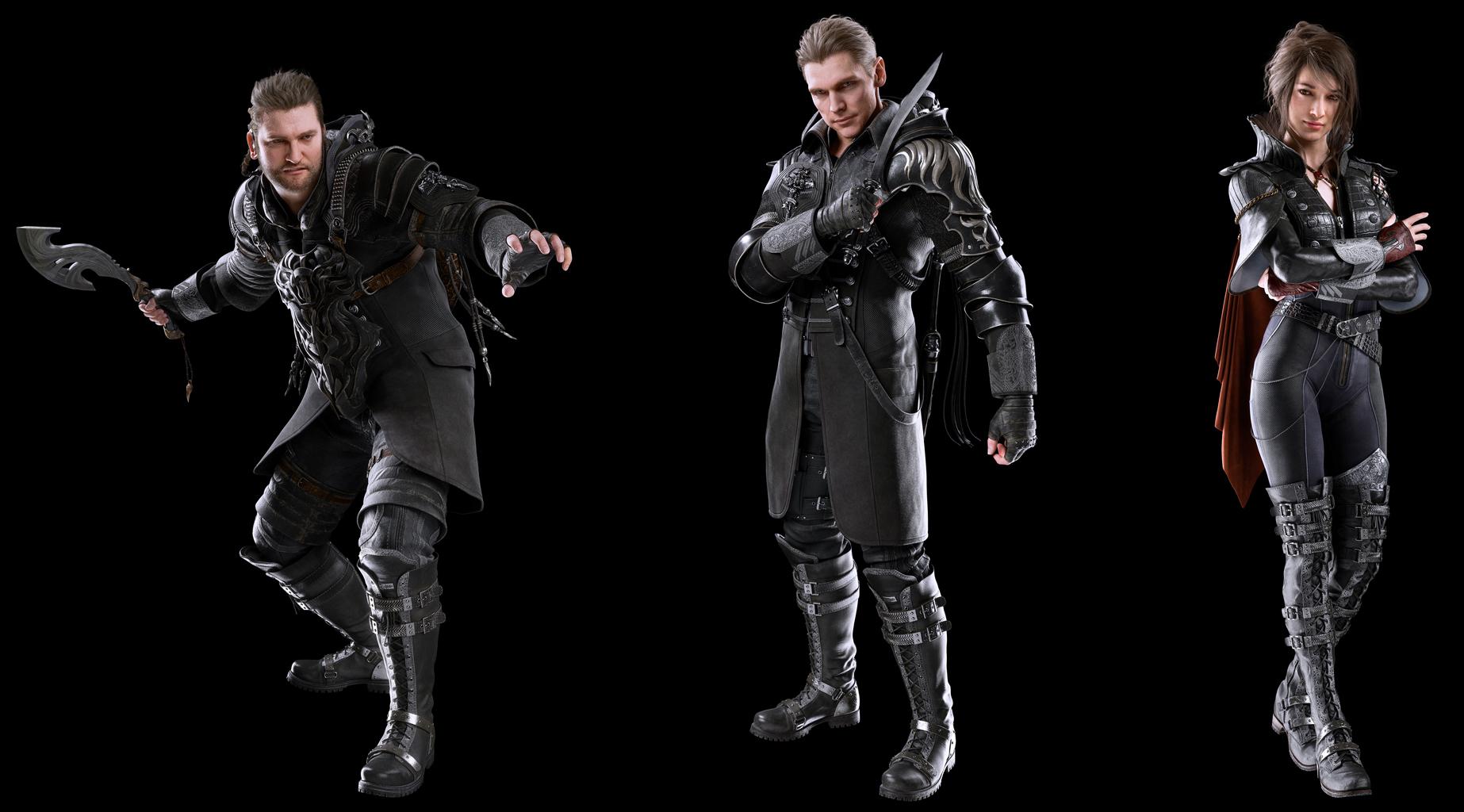 Character Design Final Fantasy Xv : Final fantasy xv kingsglaive debuts brand new screenshots