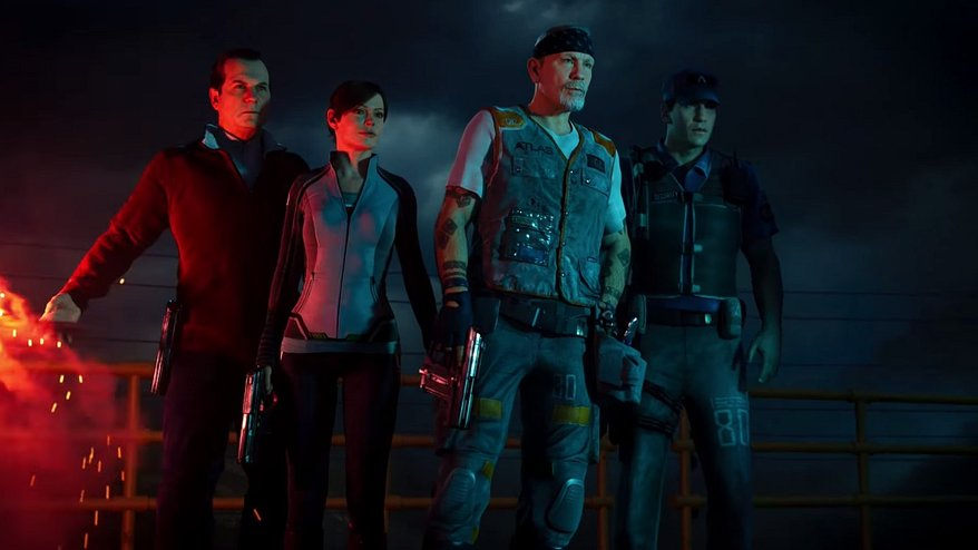 Call Of Duty Advanced Warfare Gameplay Trailer Shows Actors Killing Exo Zombies
