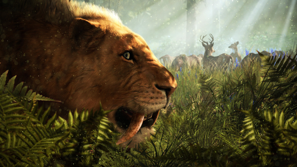 Far Cry Primal Gameplay Trailer Comes With A Saber Toothed Tiger