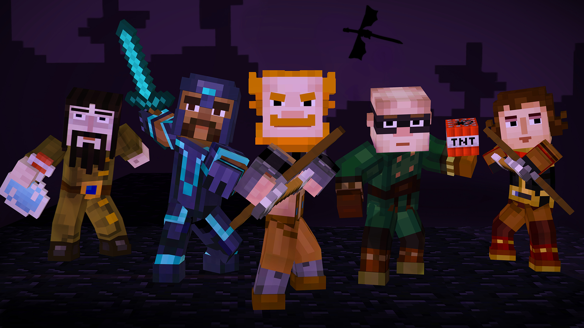 Minecraft Story Mode Episode 4 Available December 22