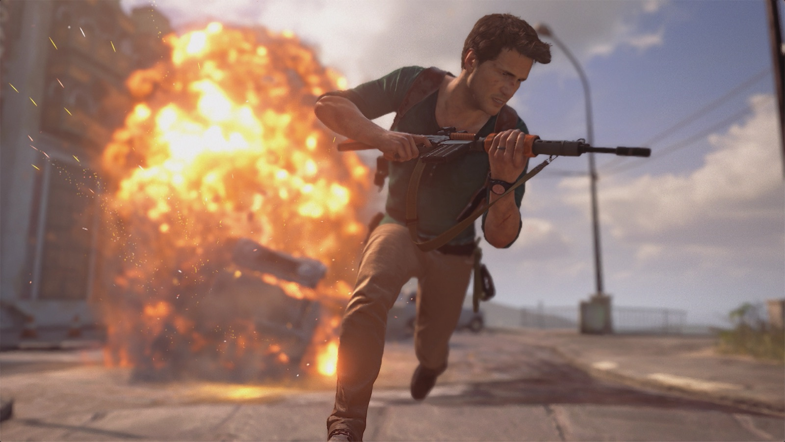 Uncharted 4 Action Packed Gameplay Trailer Released