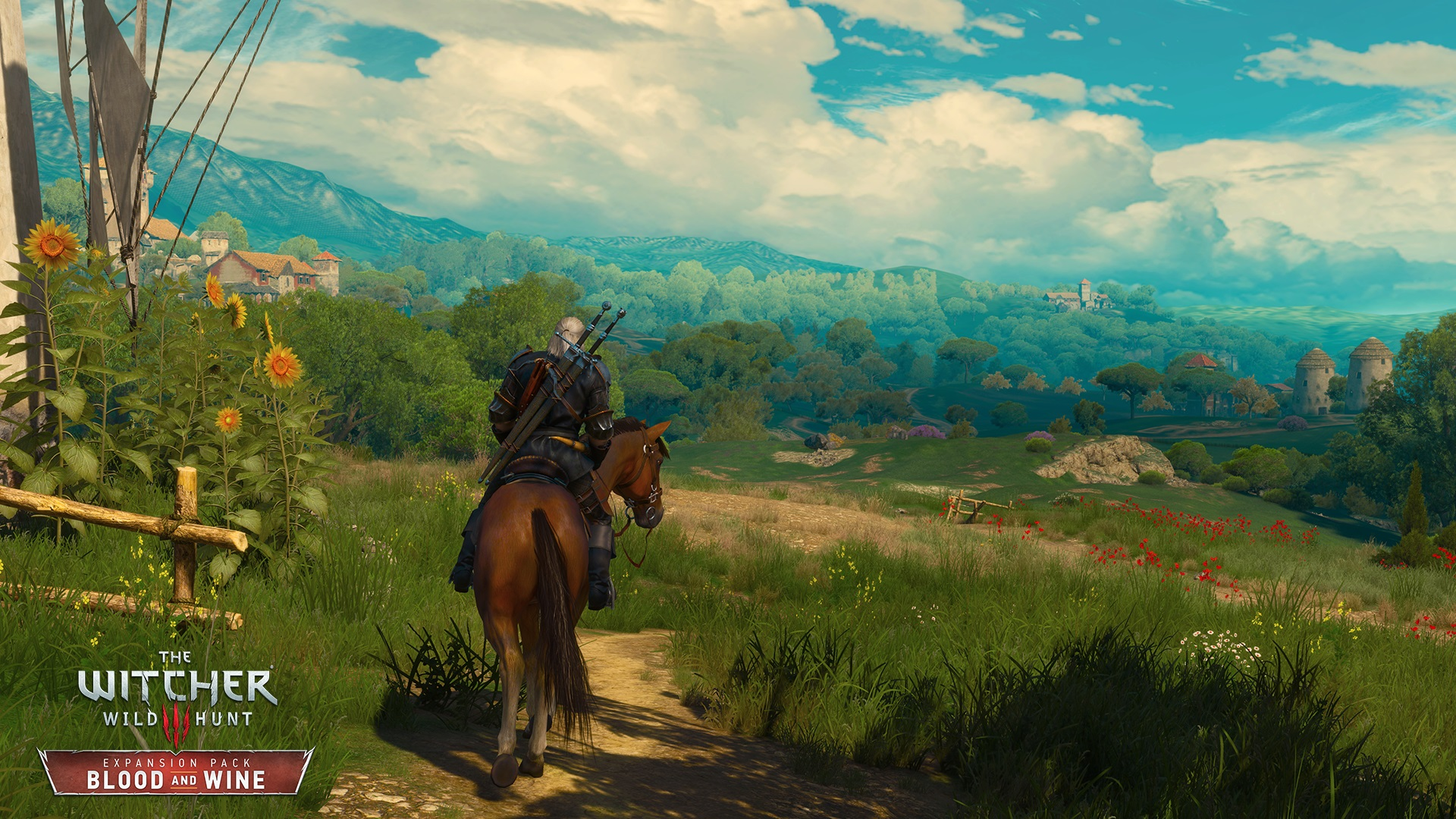 The Witcher 3 Blood And Wine Trailer Gives Us A Tour Of Toussaint