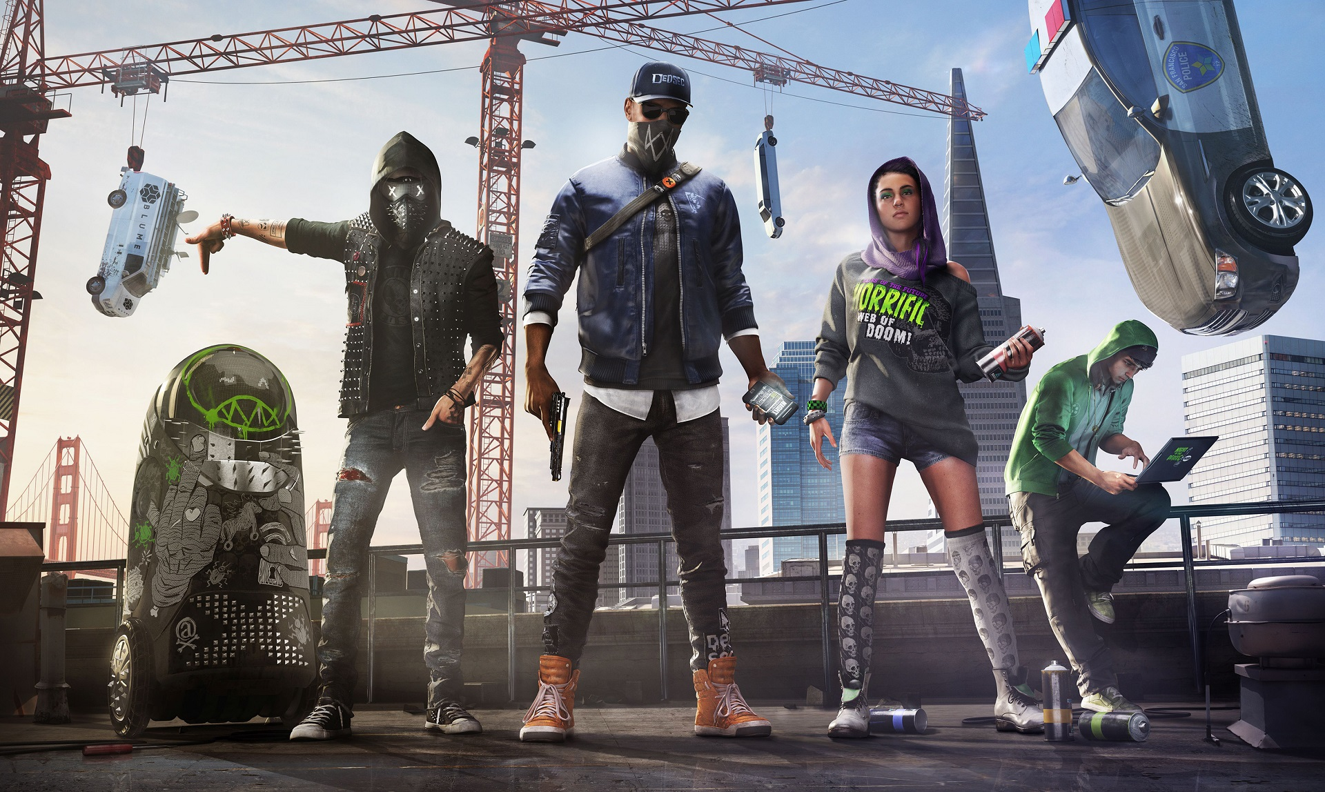 Watch Dogs 2 video introduces us to the members of DedSec