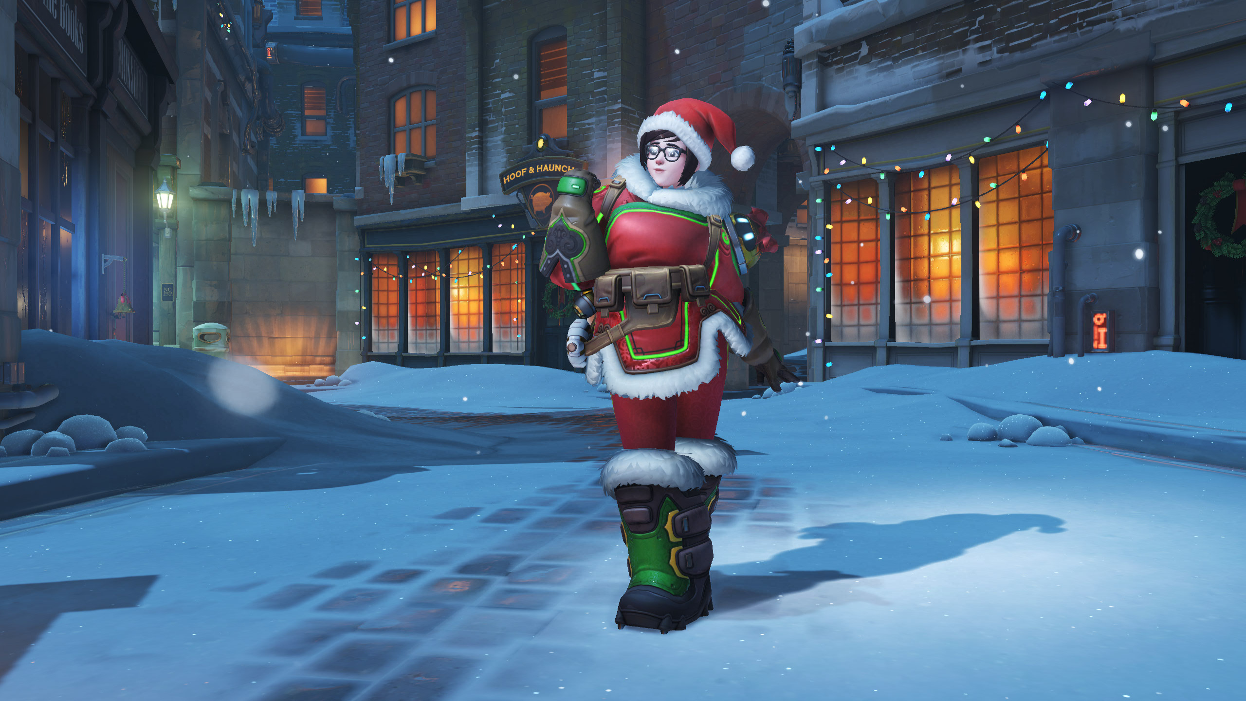 Winston Christmas Skin.Overwatch Christmas Event Is Live See All The Christmas Skins