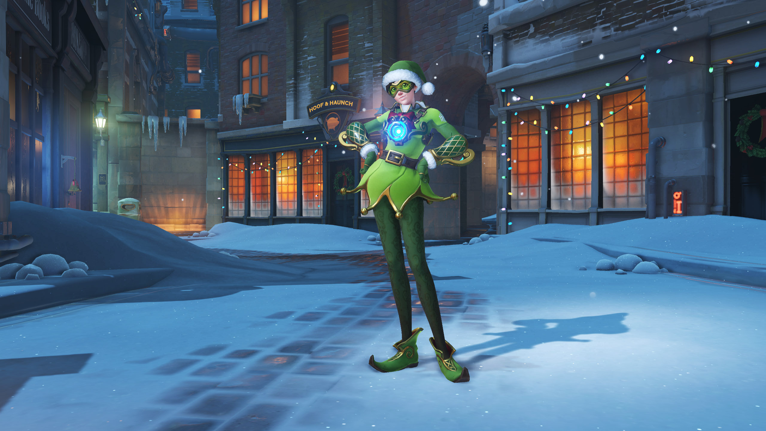 overwatch christmas tracer