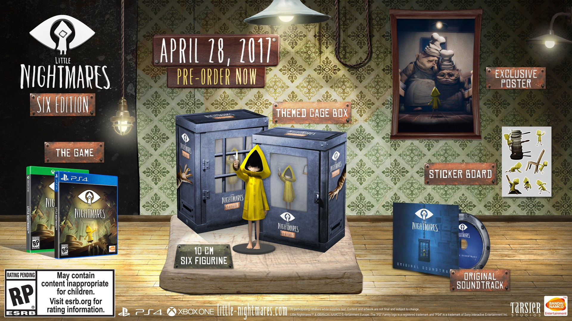 Little Nightmares will haunt your dreams this April