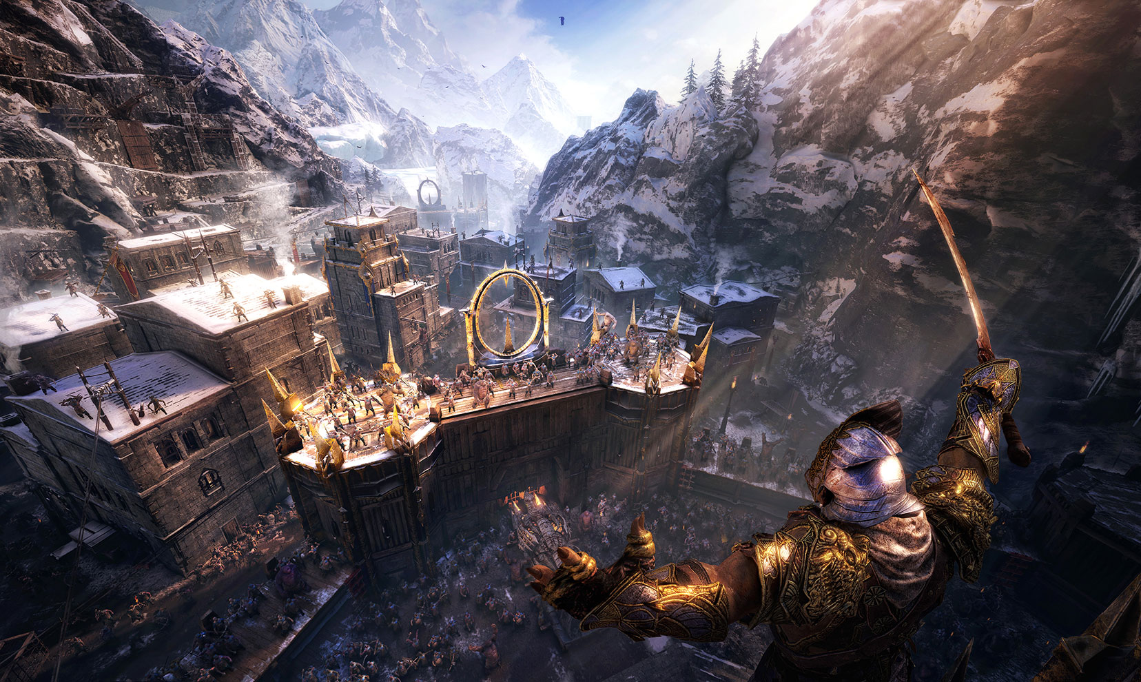 Middle-earth: Shadow of War trailer open world