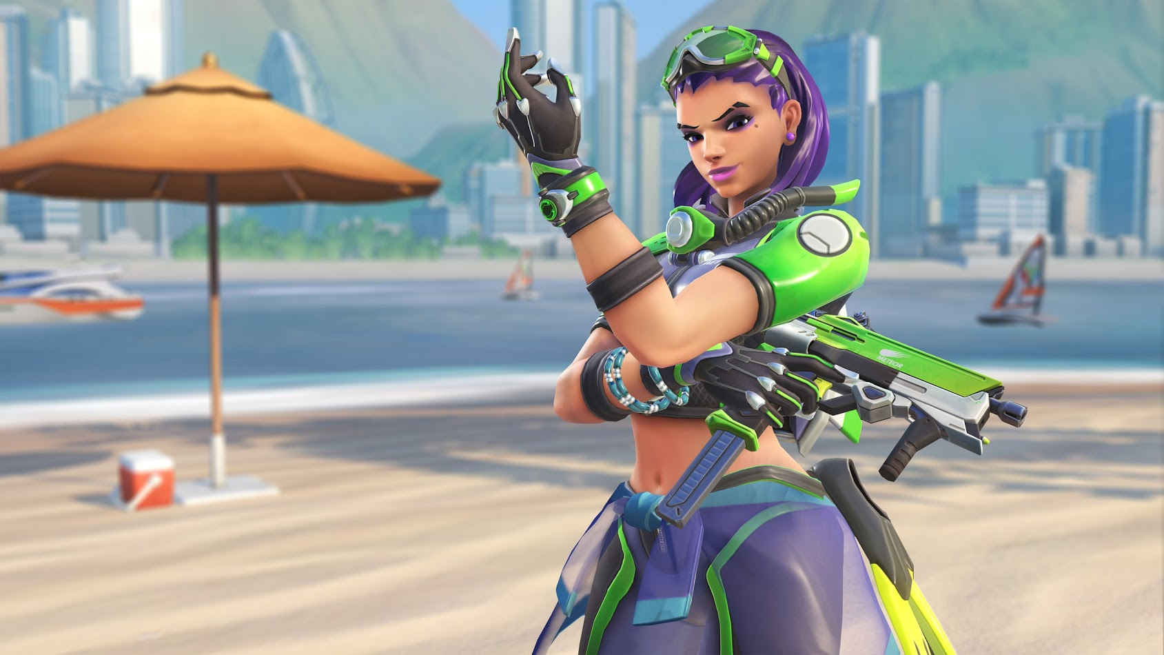Overwatch Summer Games 2017 Sombra