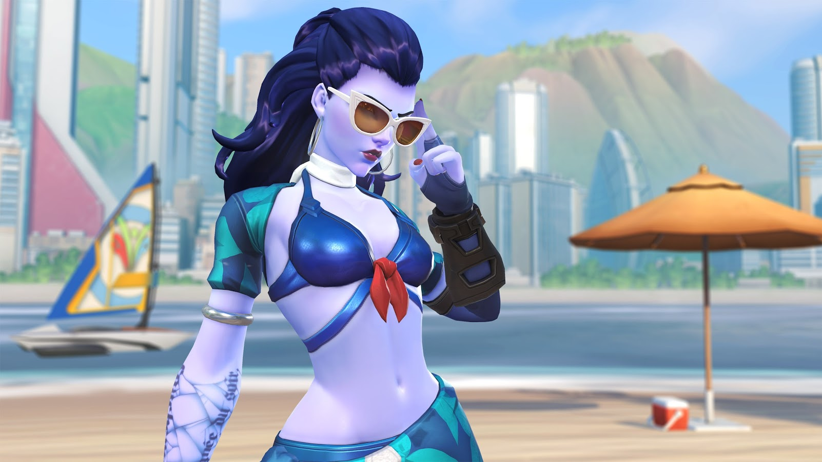 Overwatch Summer Games 2017 Widowmaker