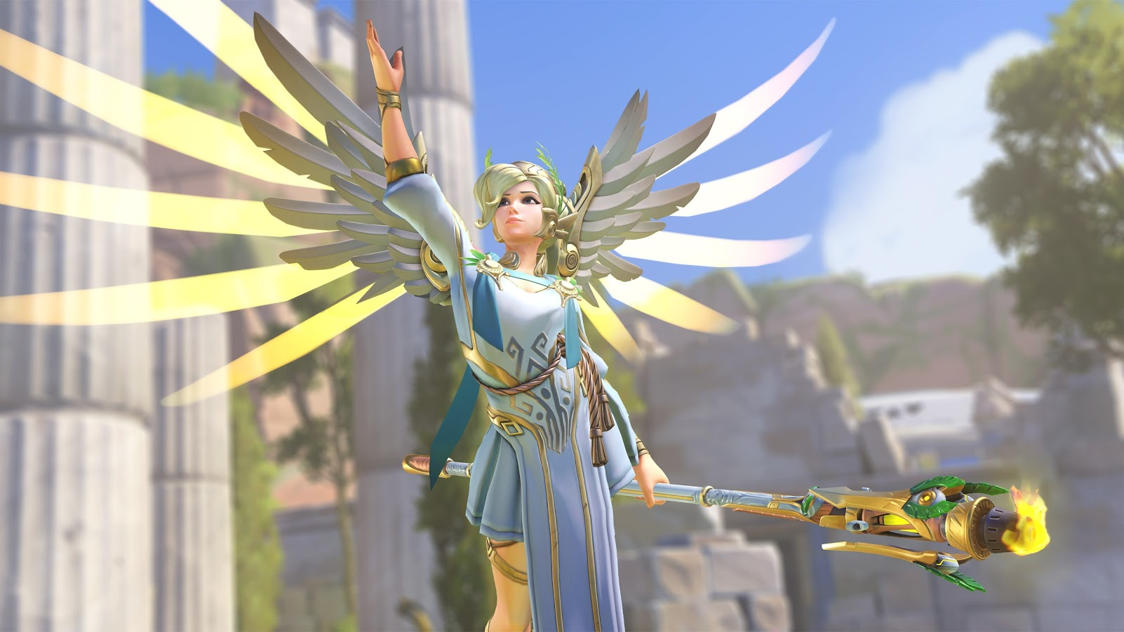 Overwatch Summer Games 2017 Mercy