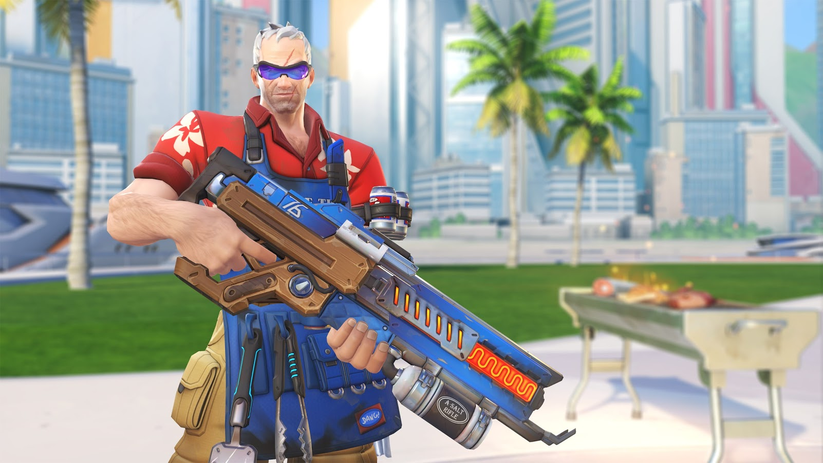 Overwatch Summer Games 2017 Soldier 76