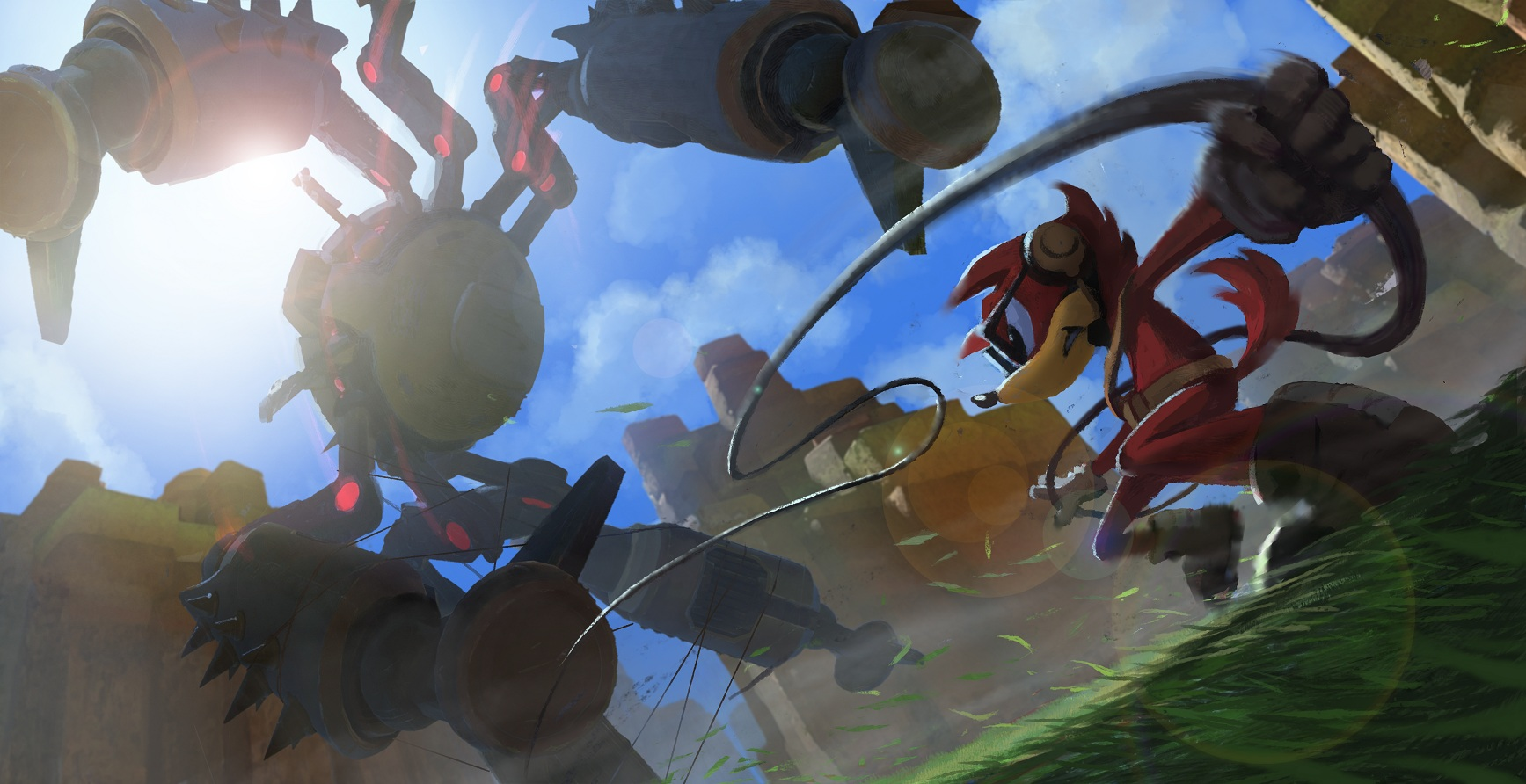Sonic Forces robotic spider