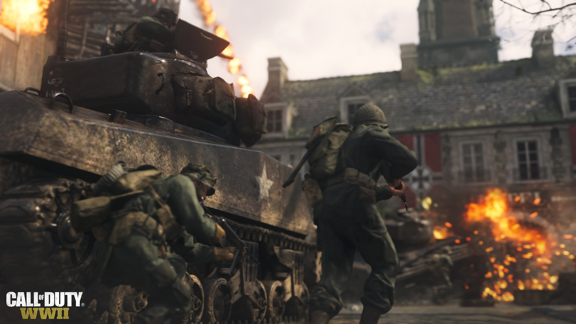 Call of Duty WWII multiplayer beta war
