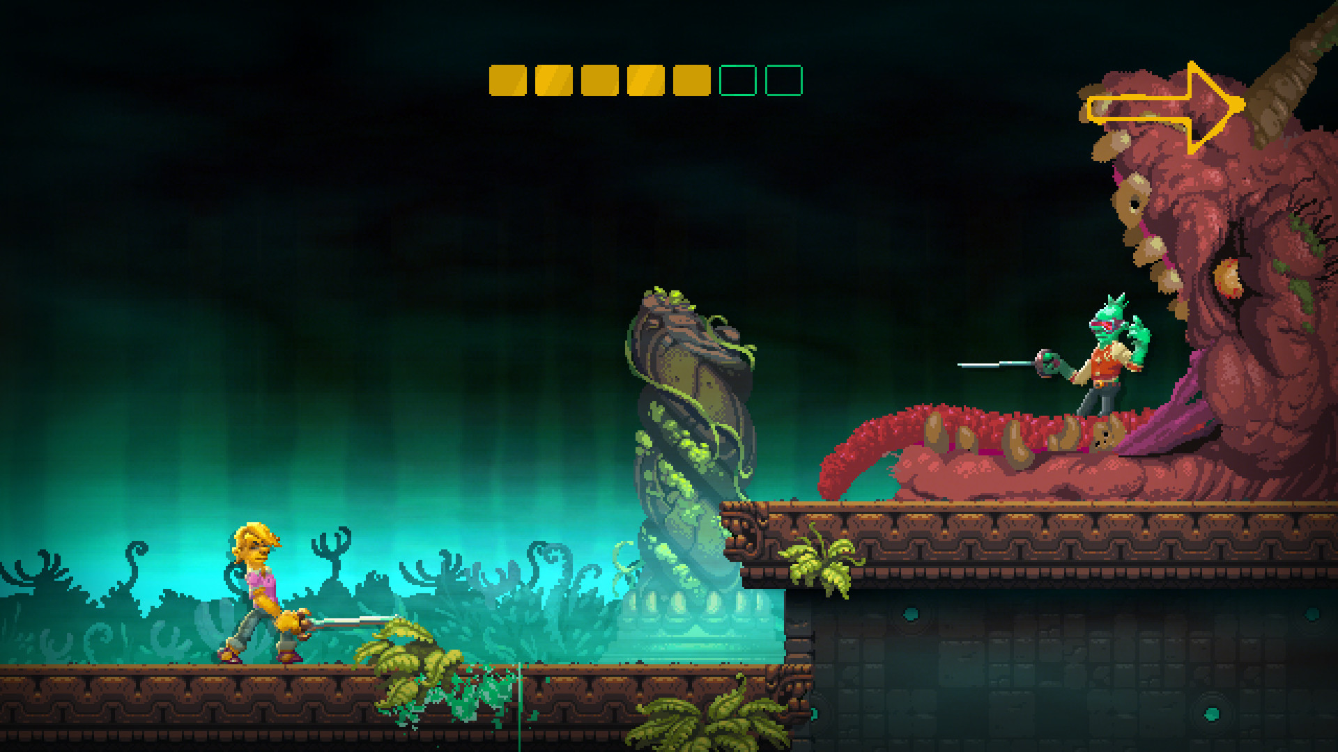 Nidhogg 2 review gameplay