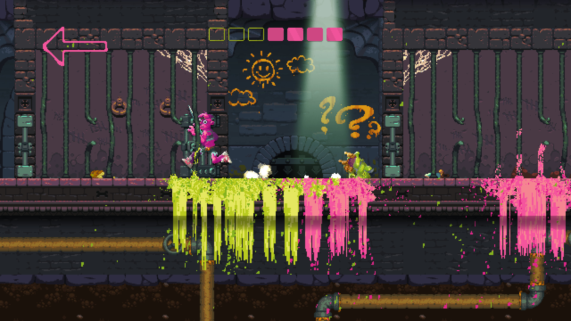 Nidhogg 2 review colorful