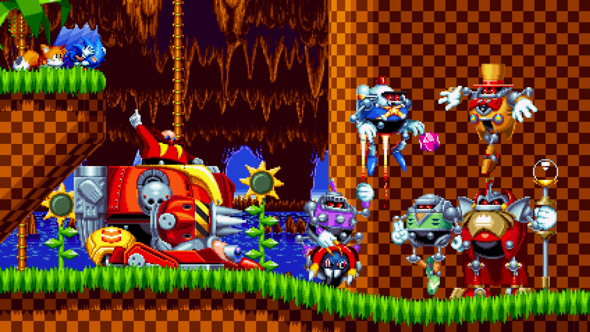 Sonic Mania review robotnik
