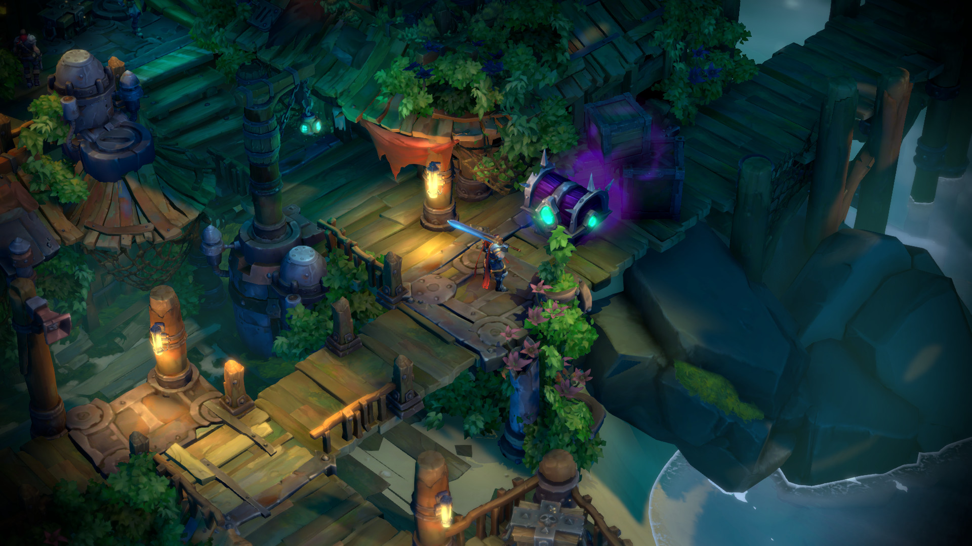 Battle Chasers: Nightwar review map