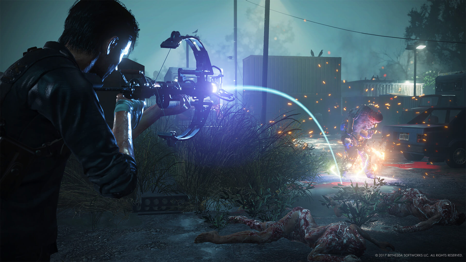 The Evil Within 2 review Warden Crossbow