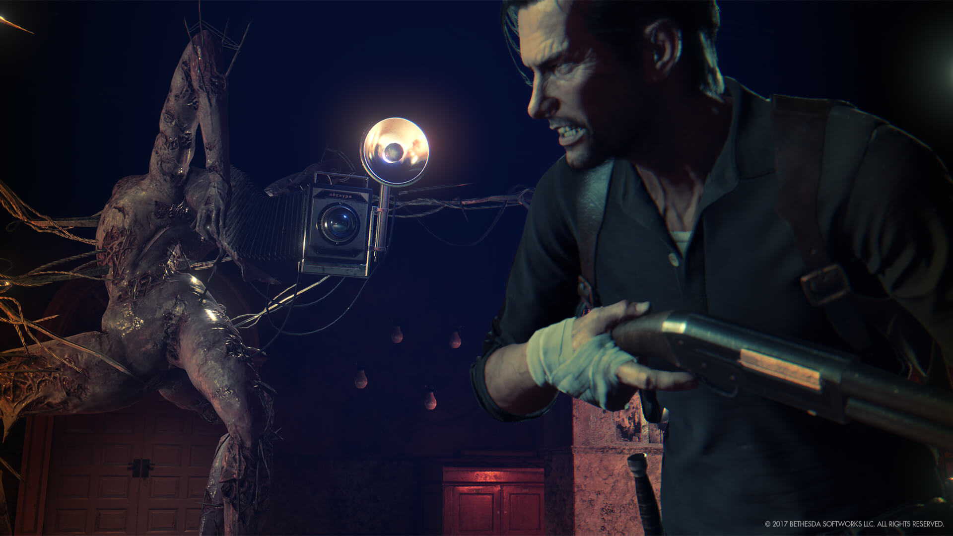 The Evil Within 2 review camera monster