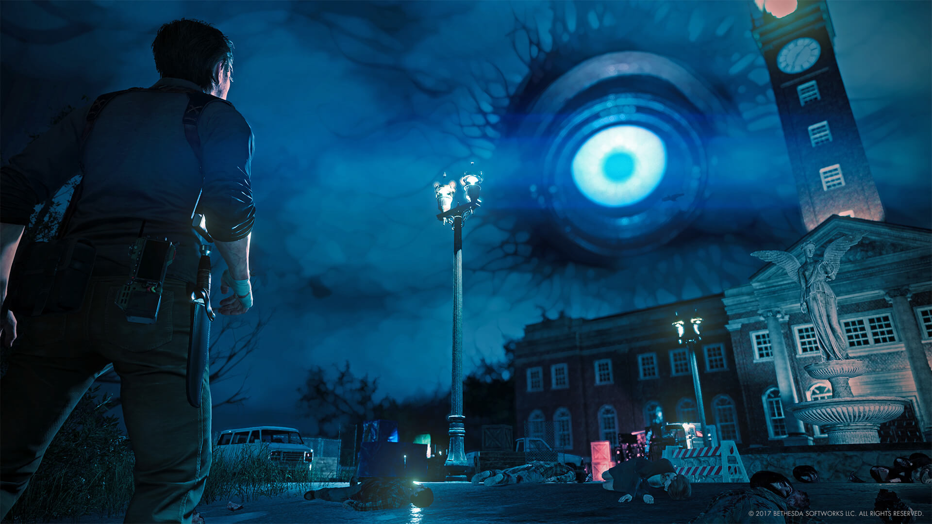 The Evil Within 2 review giant eye
