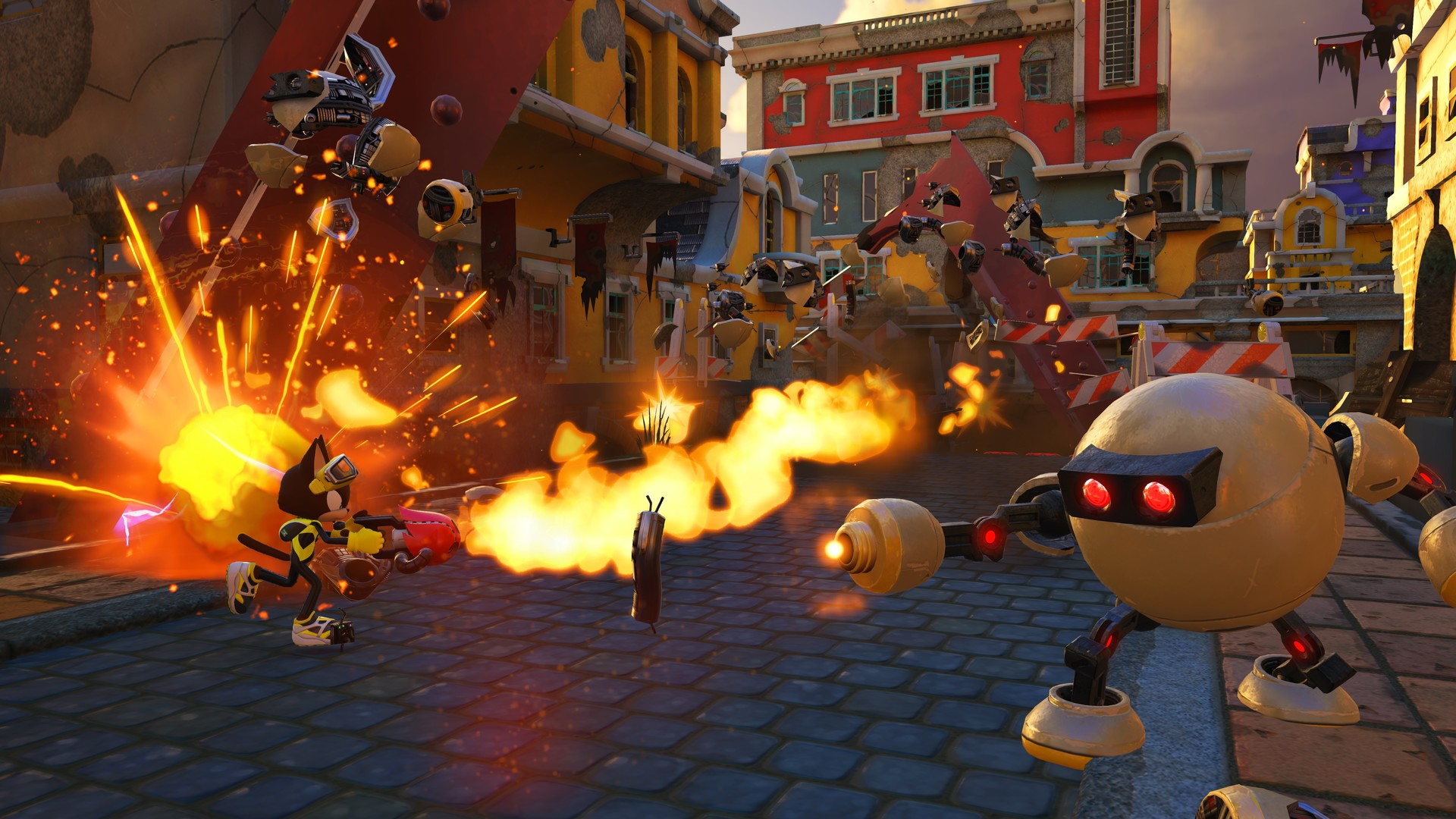 Sonic Forces review action