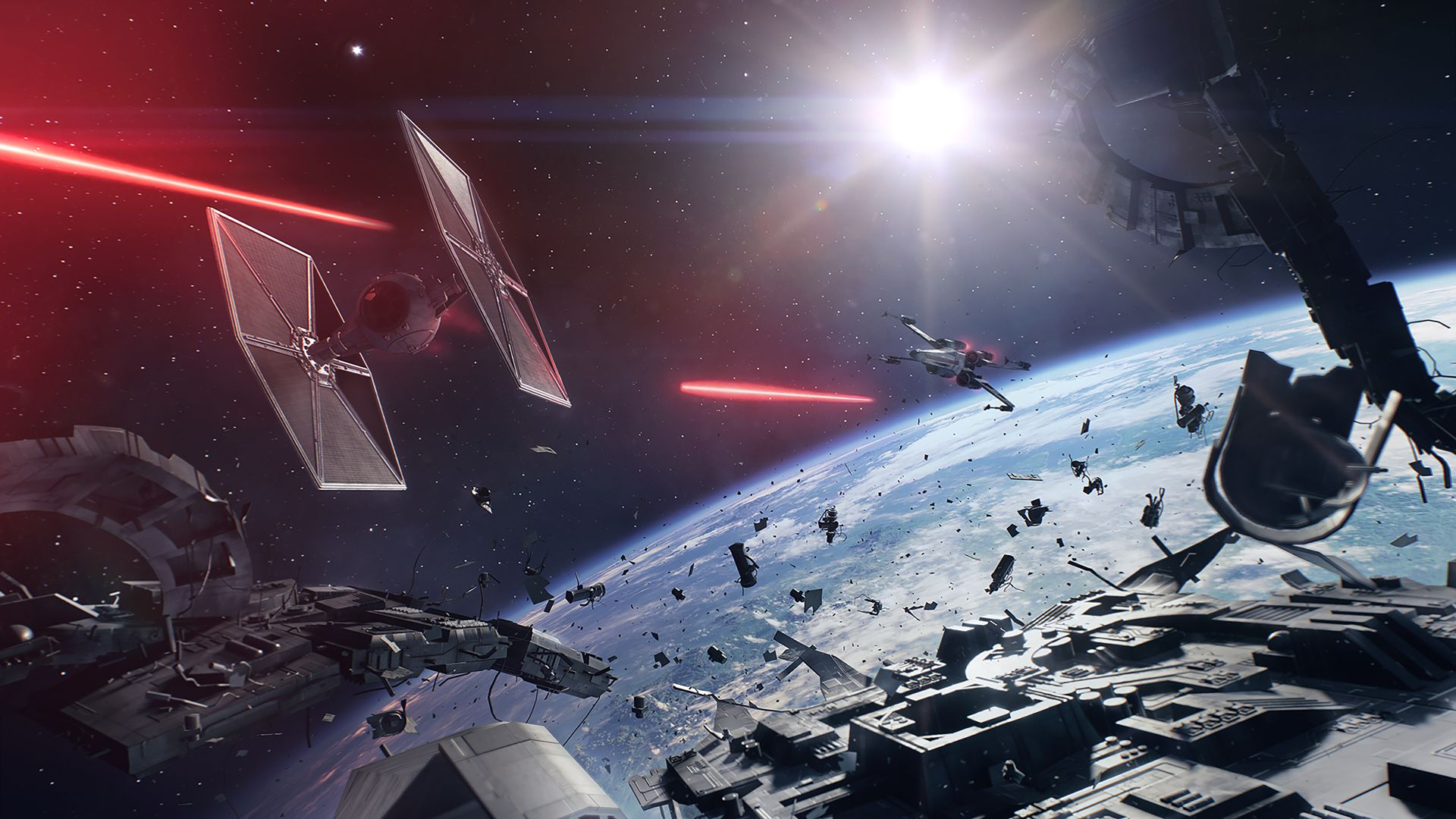 Star Wars Battlefront 2 review space battles