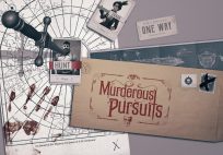 Murderous Pursuits art