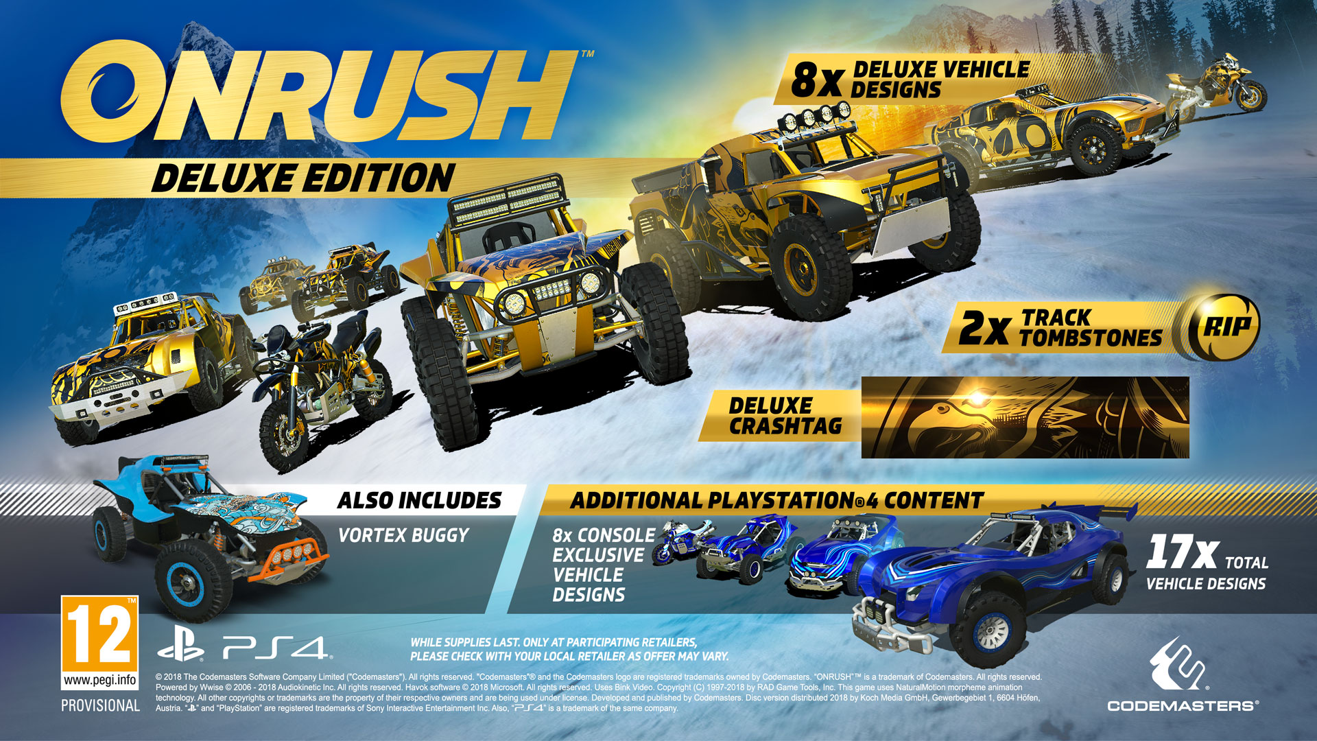Onrush deluxe edition