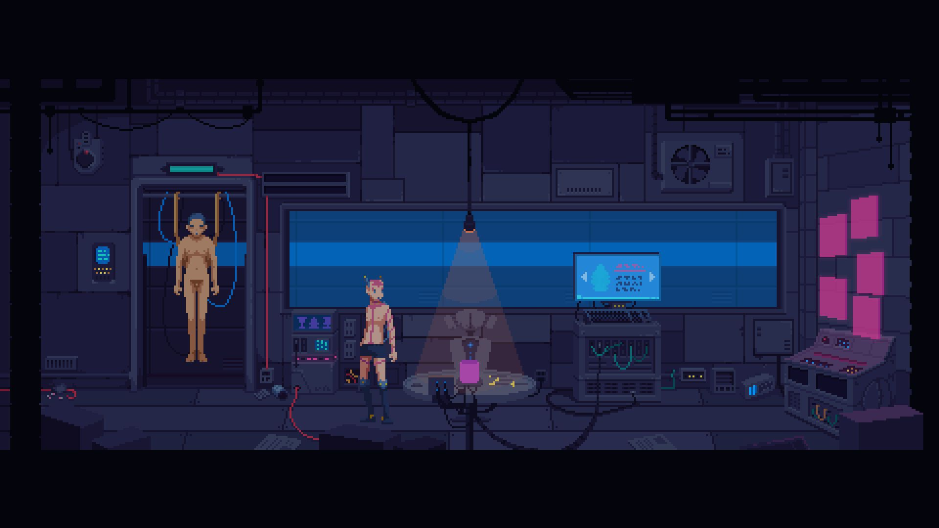 The Red Strings Club review Akara