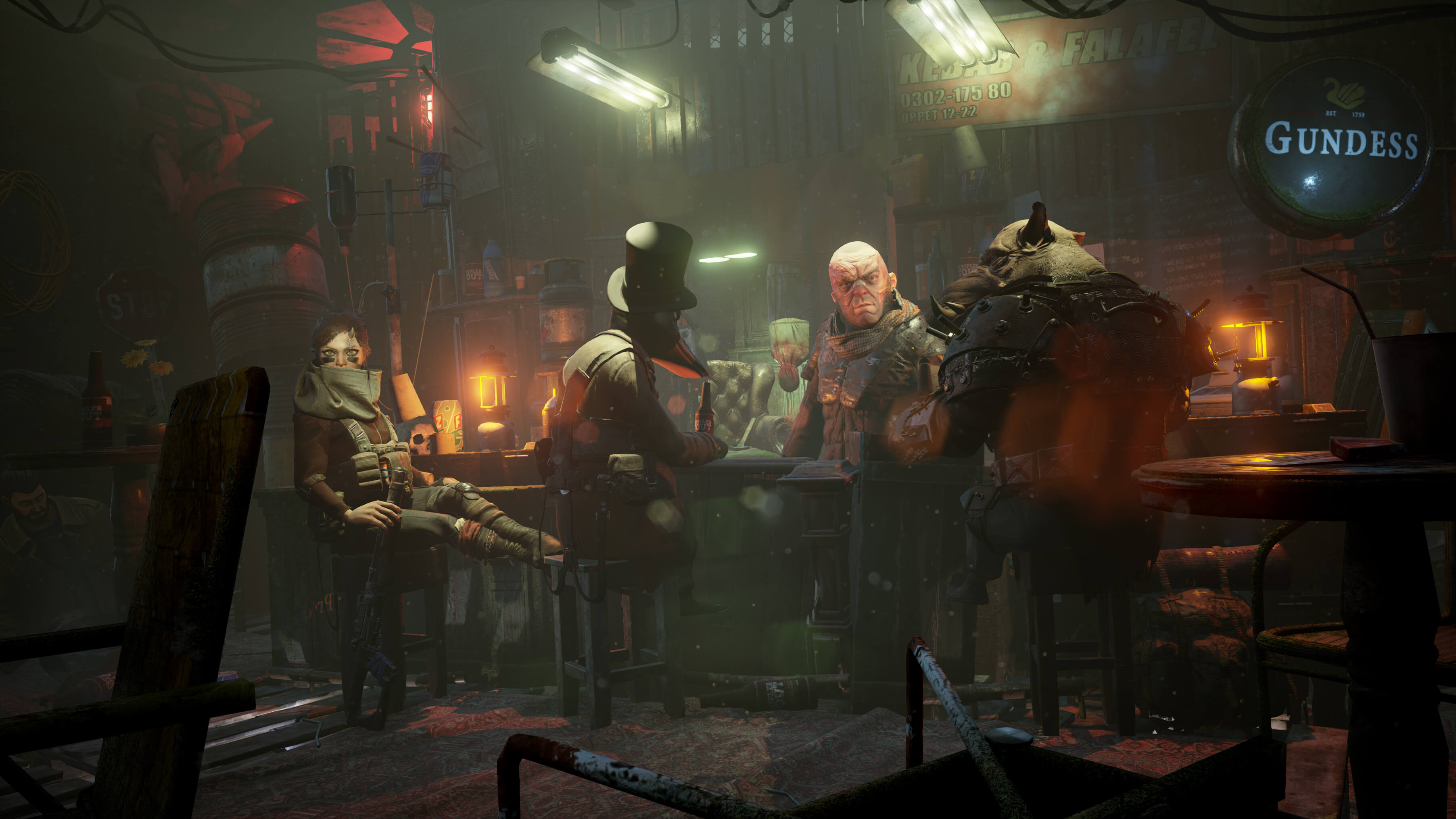 Mutant Year Zero gameplay