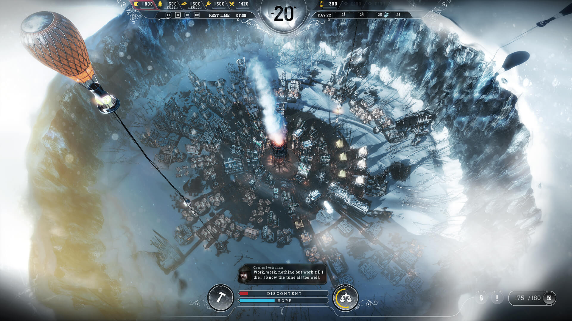 Frostpunk review: The cold can't slow this one down
