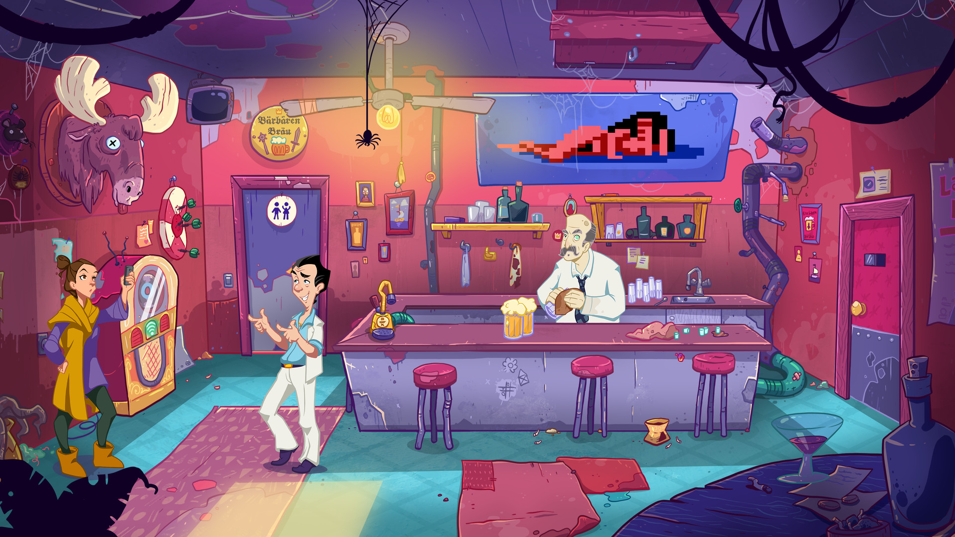 Leisure Suit Larry: Wet Dreams Don't Dry - Lefty's Bar
