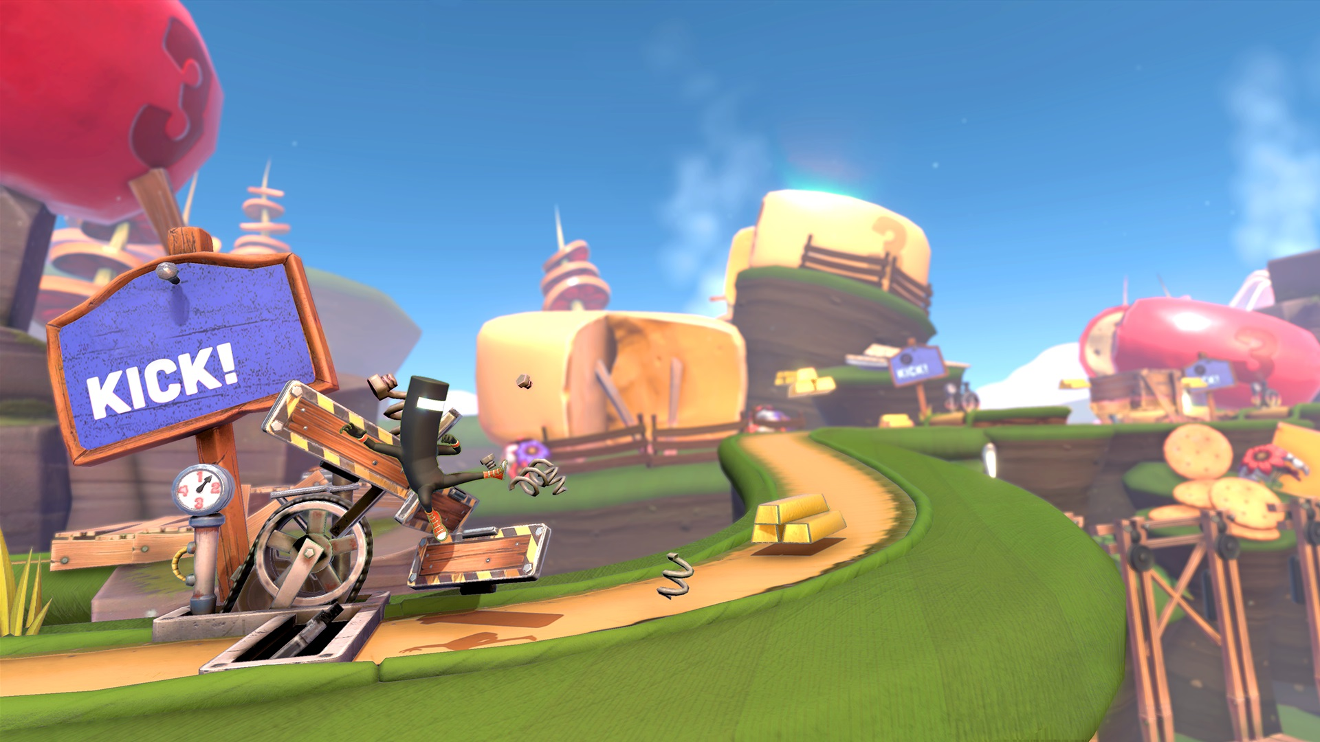 Runner3 review - kick