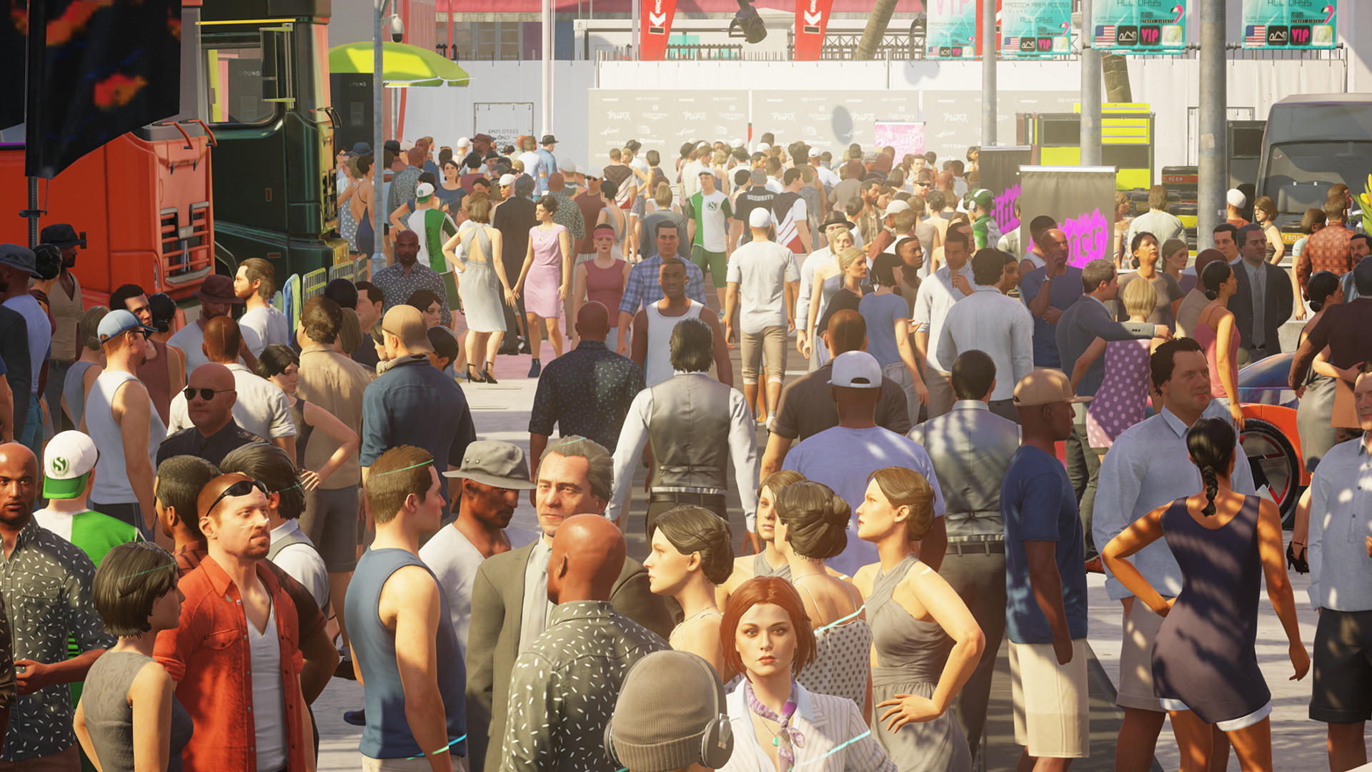 Hitman 2 crowd