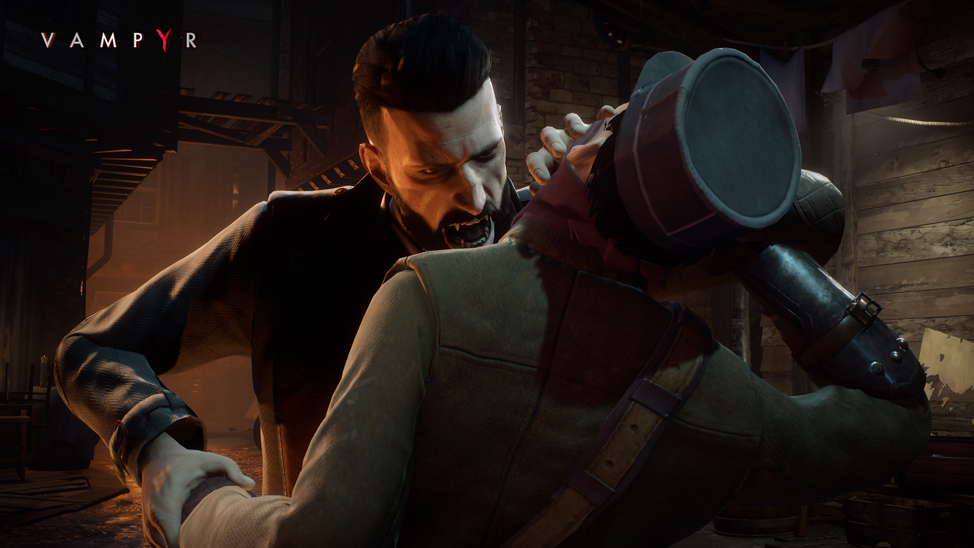 Vampyr review - bloodsucking leech