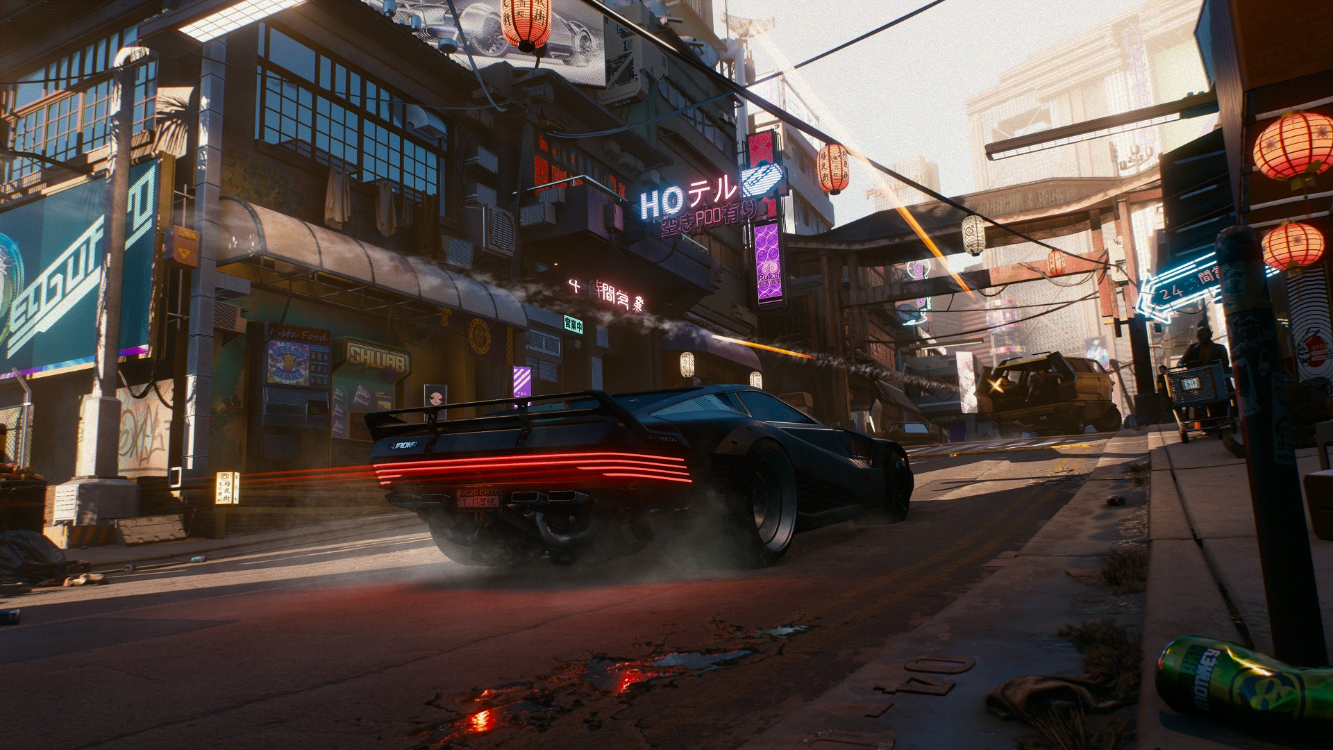 Cyberpunk 2077 gameplay demo - driving