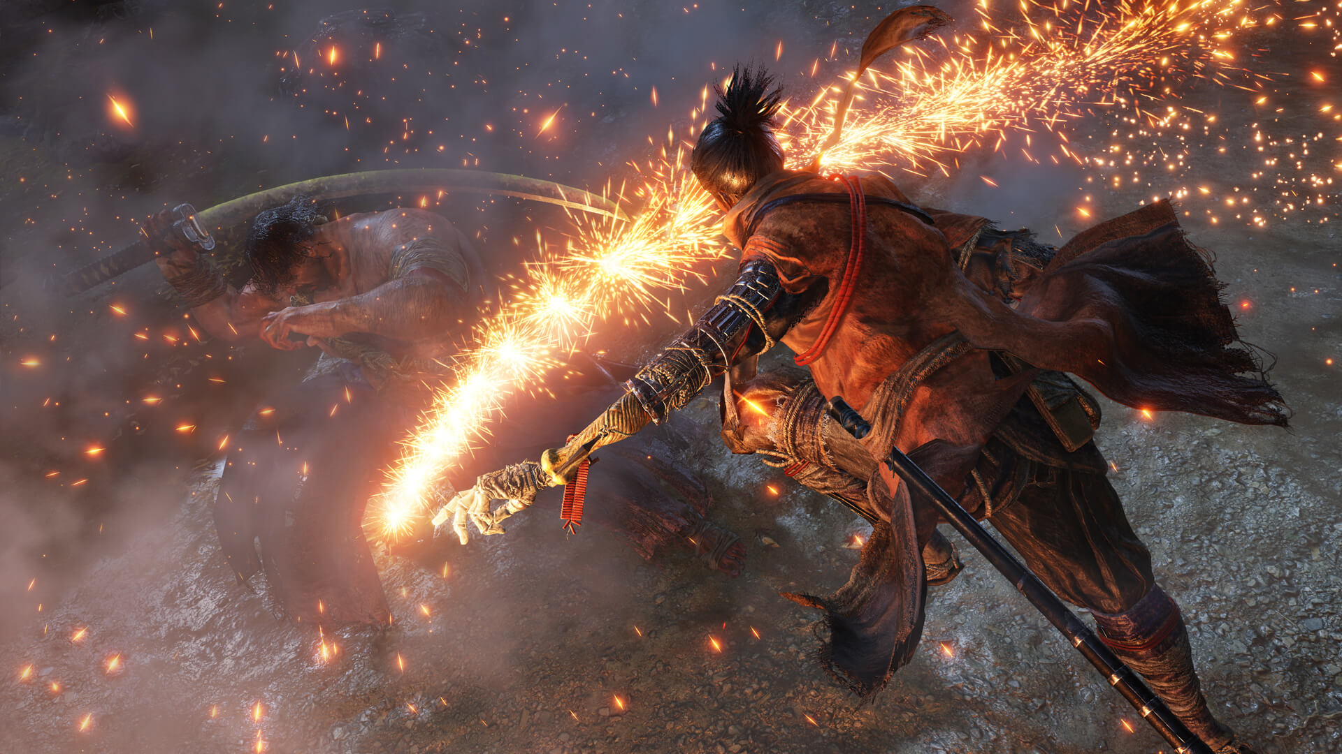 Sekiro: Shadows Die Twice fire arm