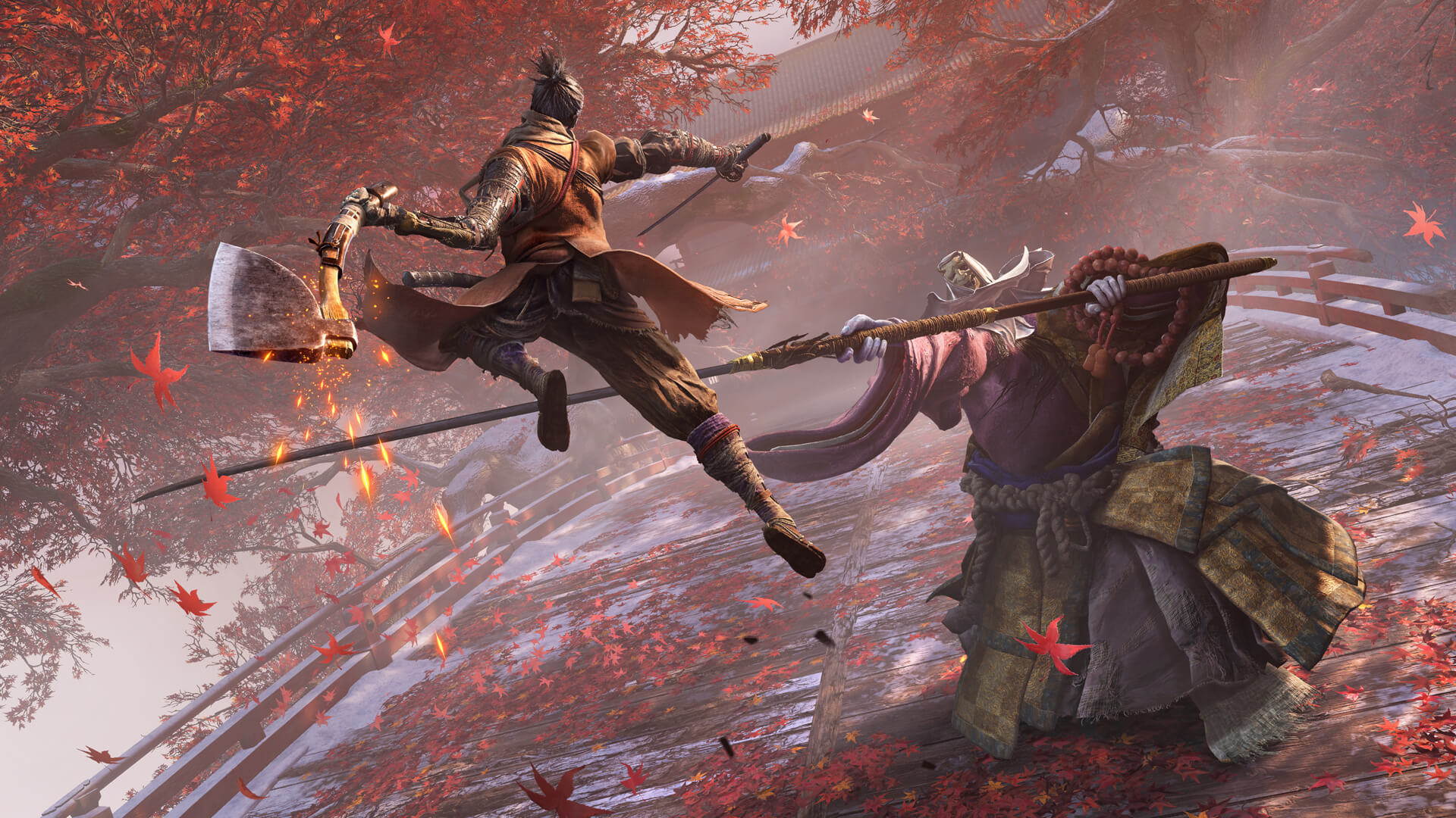 Sekiro: Shadows Die Twice Cursed Monk