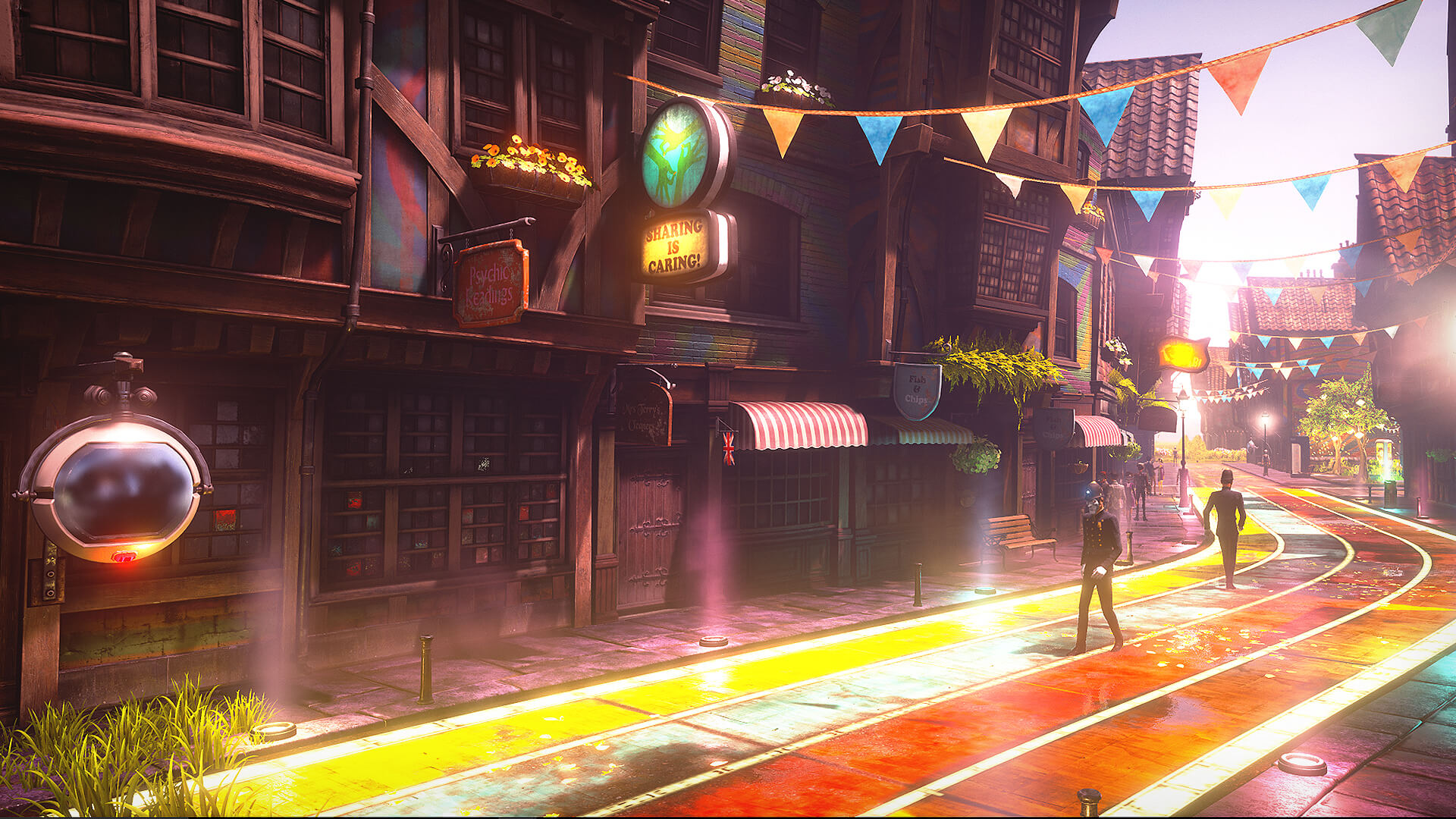 We Happy Few review - City