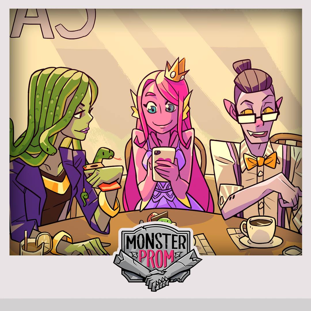 Monster Prom Lets You Date Your Favorite Monster In High School