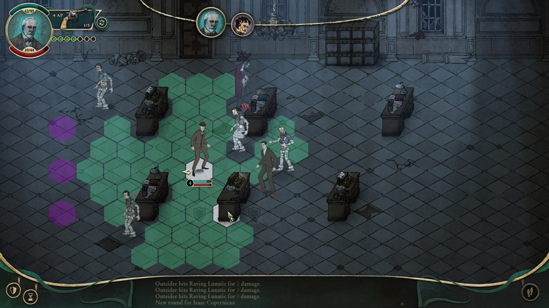 Stygian: Reign of the Old Ones monsters combat