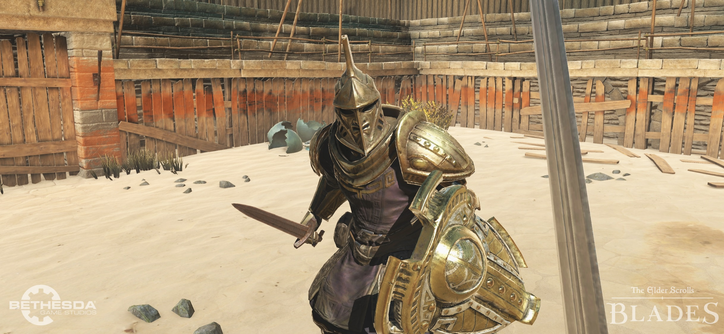 The Elder Scrolls Blades combat