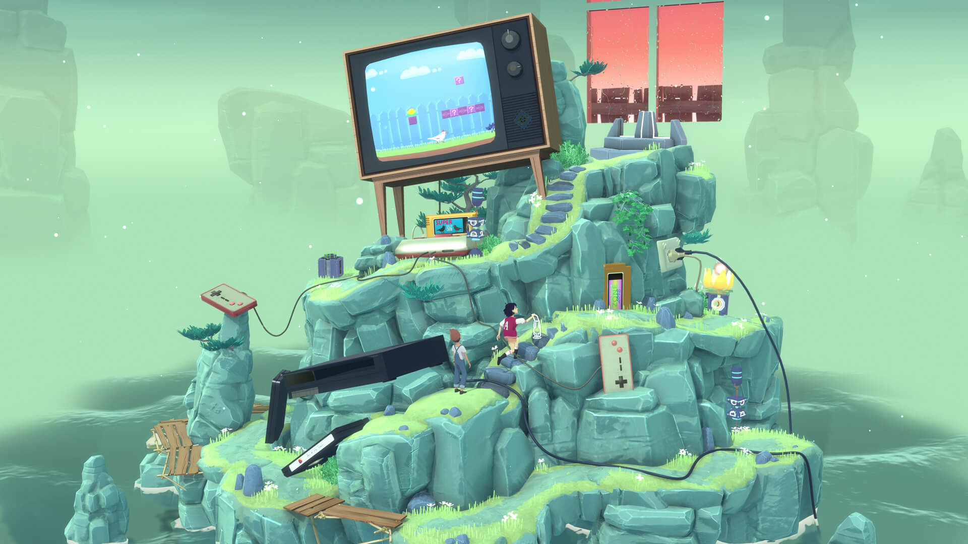 The Gardens Between review: charming graphics