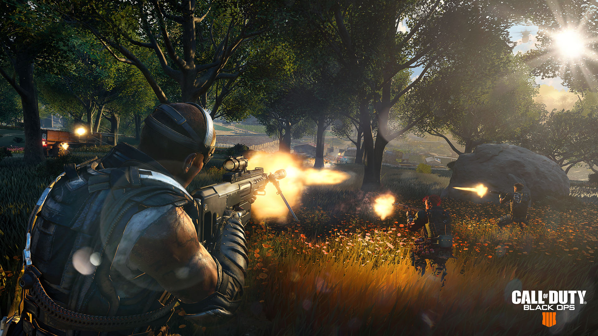 Call of Duty: Black Ops 4 Blackout visuals