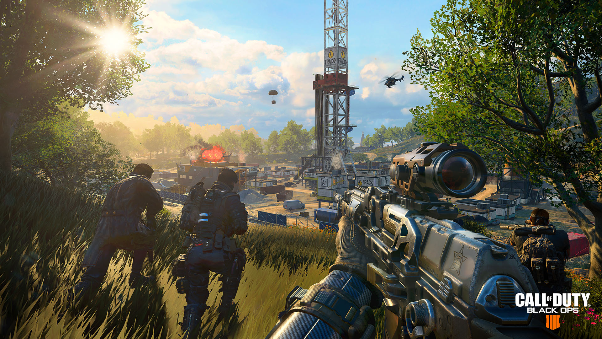 Call of Duty: Black Ops 4 Blackout squad