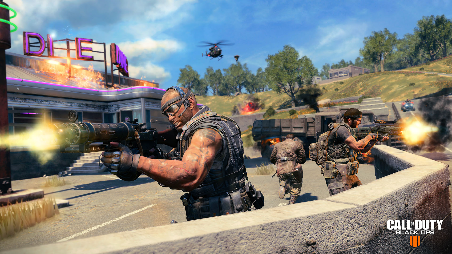 Call of Duty: Black Ops 4 Blackout maps
