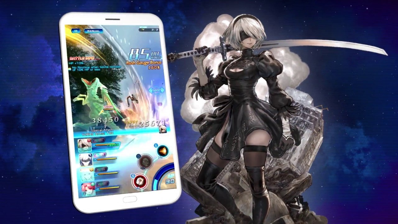 Star Ocean: Anamnesis and Nier Automata