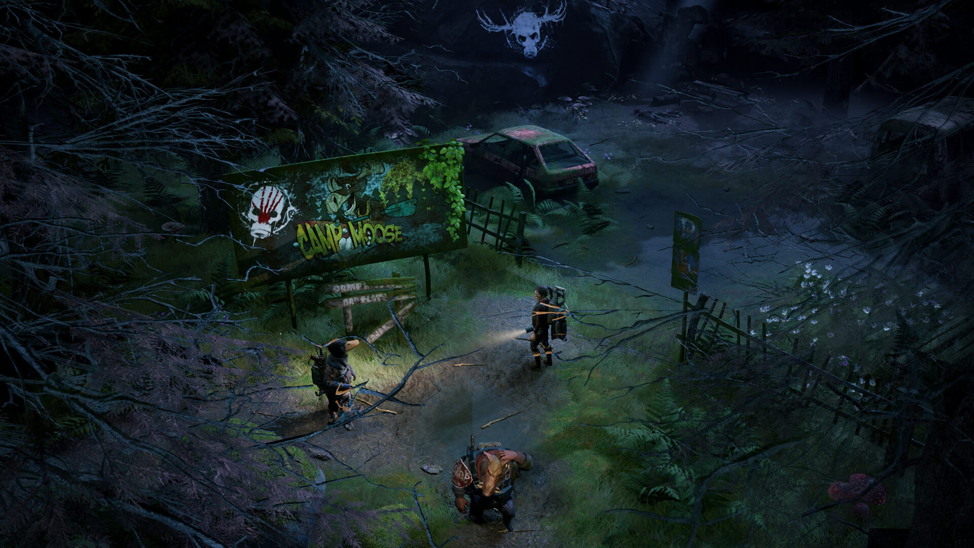Mutant Year Zero review post-apocalyptic world