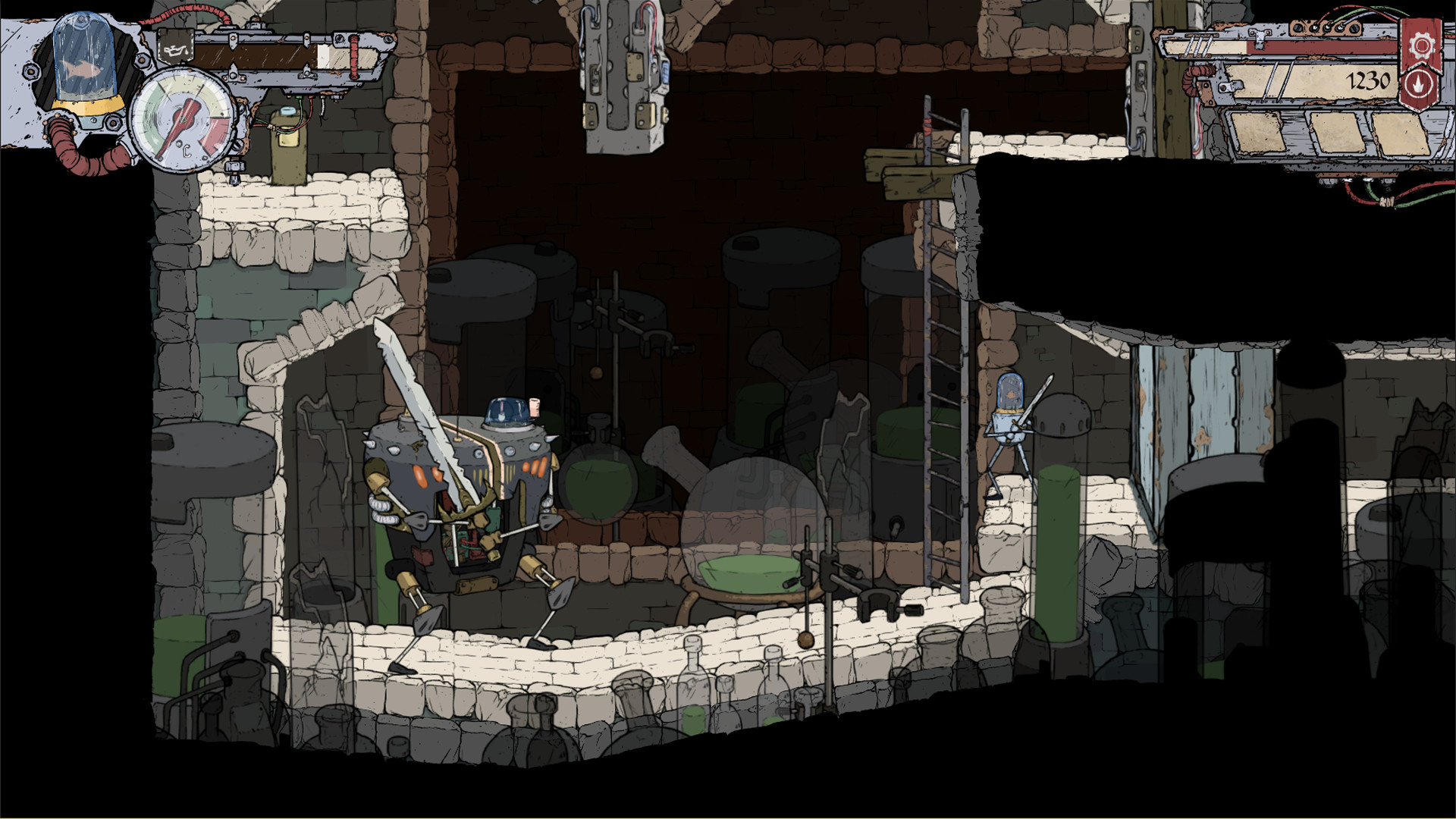 Feudal Alloy review - gameplay